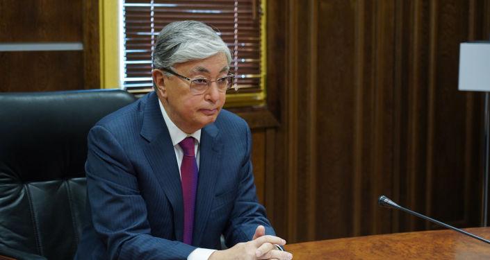 Кандидат в президенты Казахстана Касым-Жомарт Токаев