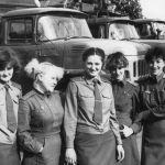 1986 жылы 26 сәуірде апат болған Чернобыль АЭС 4-ші энергетикалық блок аумағындағы байланысшылар