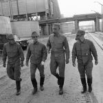 Чернобыль АЭС аумағын зарарсыздандыруға аттанған арнайы бөлімше мүшелері