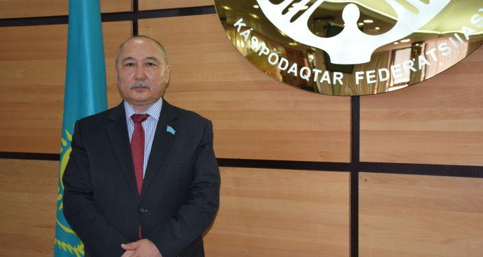 Кандидат в президенты Казахстана Амангельды Таспихов
