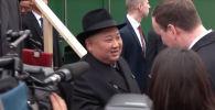 Ким Чен Ына в России встретили с хлебом и солью
