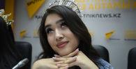 Как самые красивые девушки Казахстана пытались опубликовать новость – видео