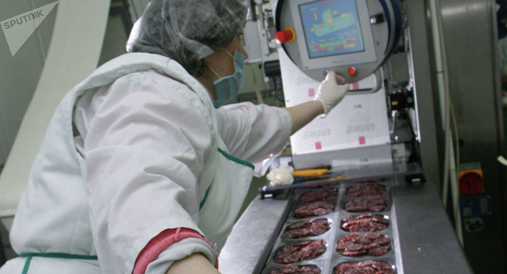 Мясокомбинат, архивное фото