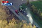 Пожарные устраняют последствия утечки аммиака