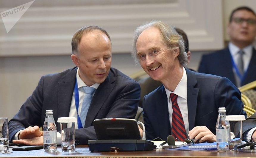 Специальный посланник генерального секретаря ООН по Сирии Гейр Педерсен