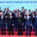 Первый президент Казахстана Нурсултан Назарбаев во время второго форума международного сотрудничества Один пояс, один путь