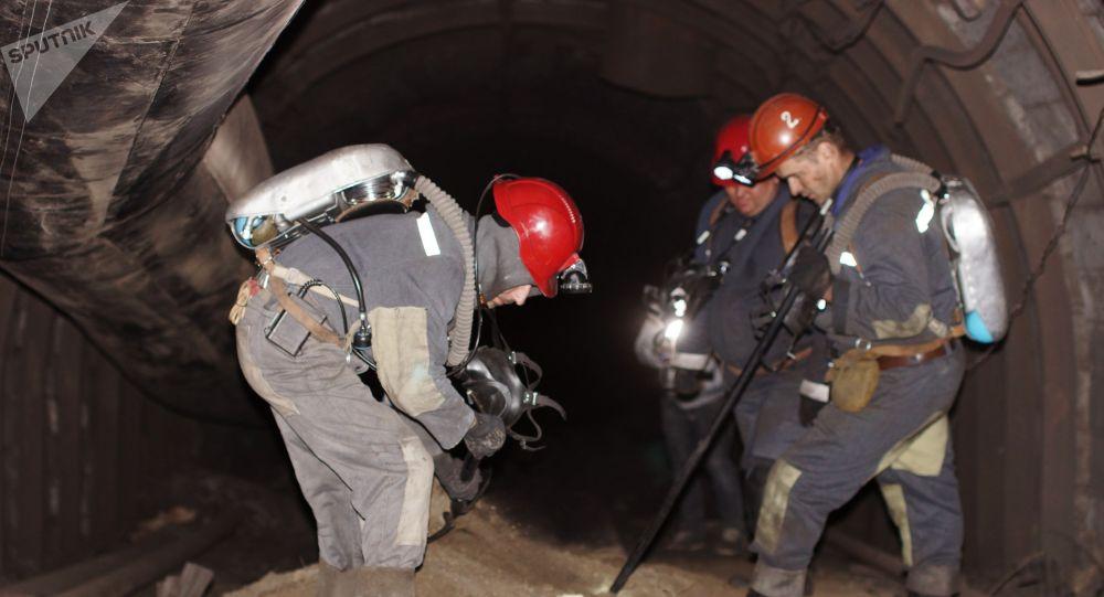 Взрыв произошел на шахте Схидкарбон в Луганской области