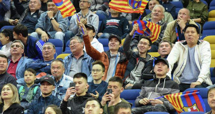 Матч Интер - Барселона в финале Лиги чемпионов по футзалу