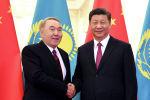 Елбасы Нұрсұлтан Назарбаев пен ҚХР басшысы Си Цзиньпин
