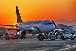 Архивное фото самолета авиакомпании Эйр Астана