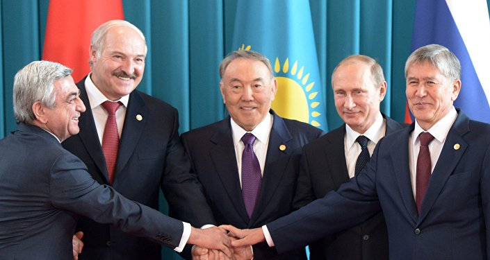 Заседание Высшего Евразийского экономического совета