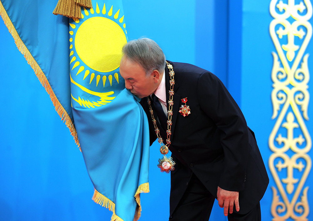 назарбаев флаг