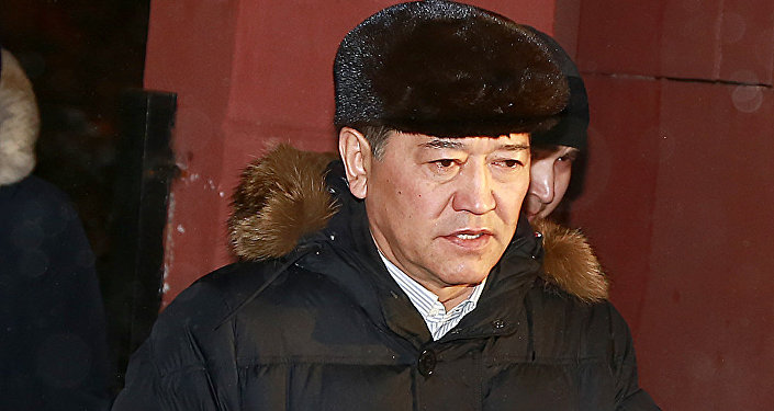 Серик Ахметов после оглашения приговора