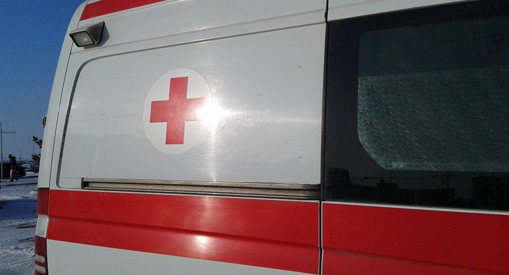 Архивное фото машины скорой помощи