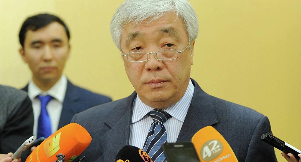 Архивное фото главы МИД Казахстана Ерлана Идрисова