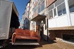 Бесоба тұрғын үй кешені, архивтегі фото