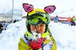 На Шымбулаке под Алматы прошел Международный День снега