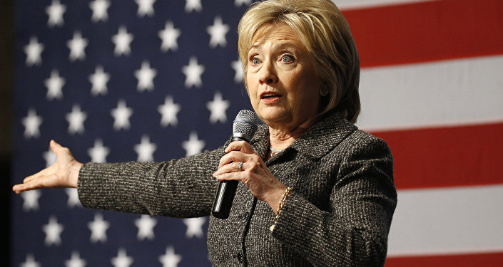 Архивное фото Хиллари Клинтон