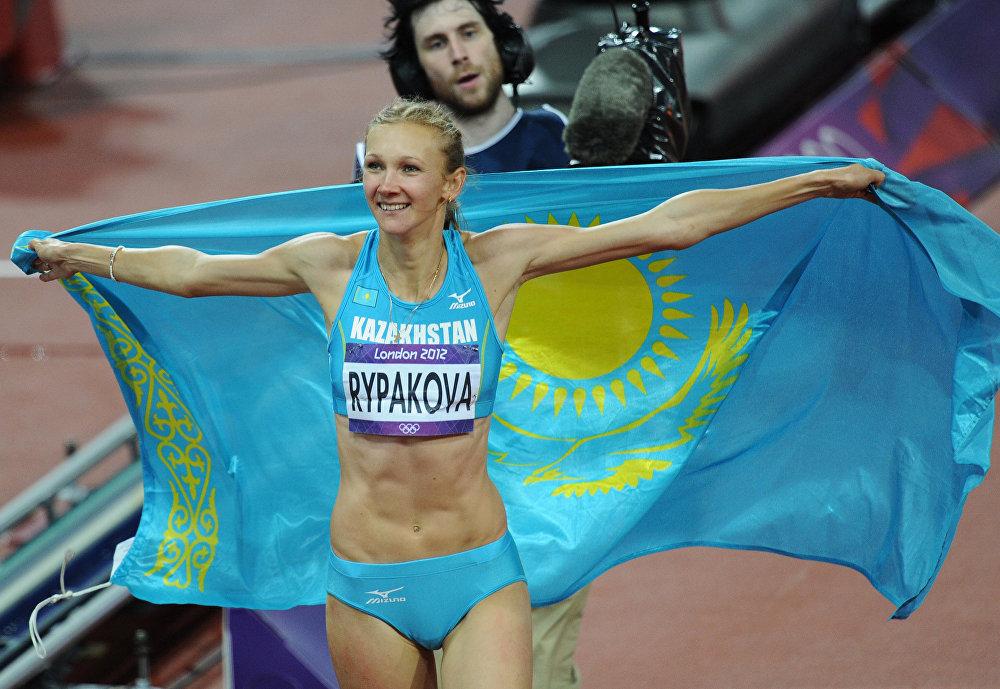 Казахстанская спортсменка Ольга Рыпакова
