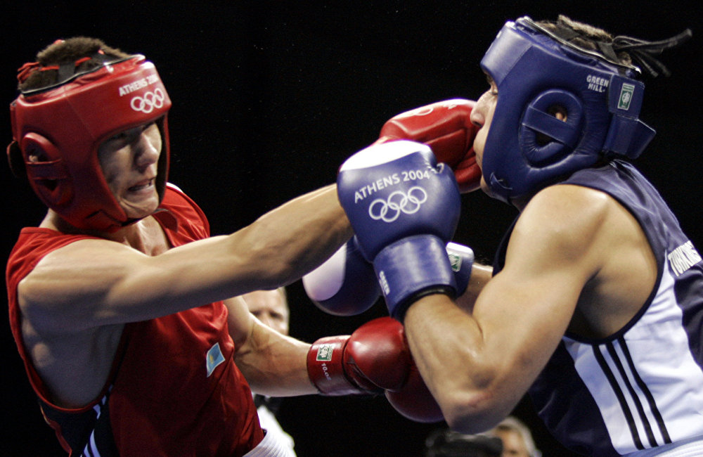 Бахтияр Артаев на Олимпиаде-2004 в Афинах