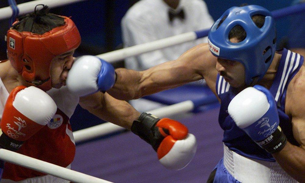 Олимпийский чемпион Ермахан Ибраимов. Сидней 2000 год.