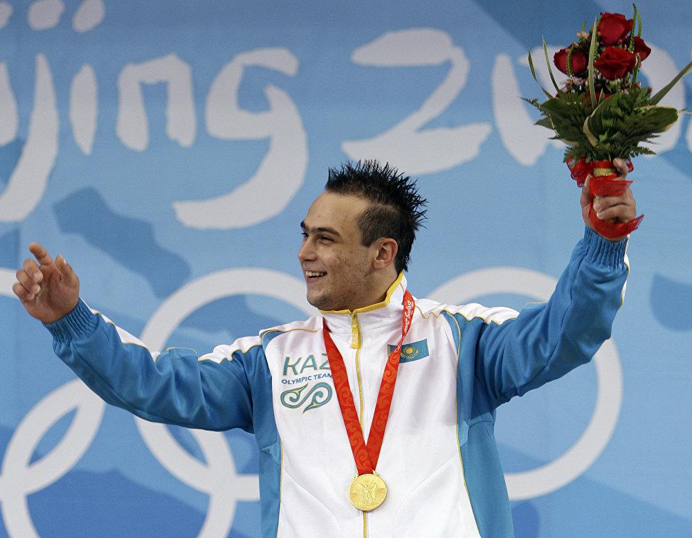 Илья Ильин на Олимпиаде в Пекине
