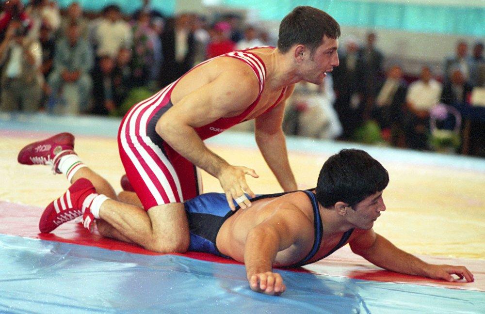 Юрий Мельниченко на Олимпиаде в Атланте в 1996 году