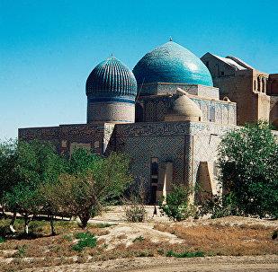 Туркестан, мавзолей Ходжа Ахмета Яссауи