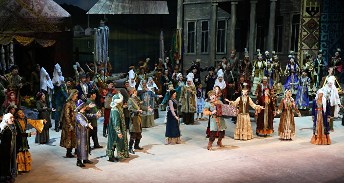Опера Биржан-Сара на сцене Астана Опера