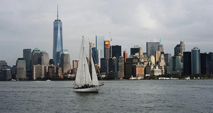 Архивное фото Нью-Йорка