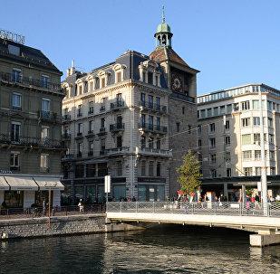 Архивное фото Женевы
