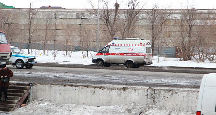 Архивное фото скорой медицинской помощи