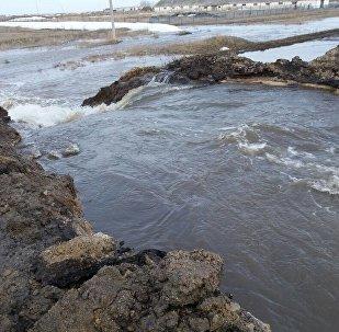 Подтопления в СКО. Фото с места события
