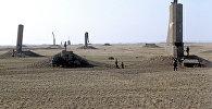 Архивное фото Семипалатинского ядерного полигона (1991 год)