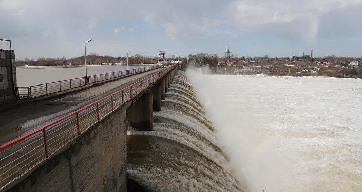 Сергеевское водохранилище в СКО