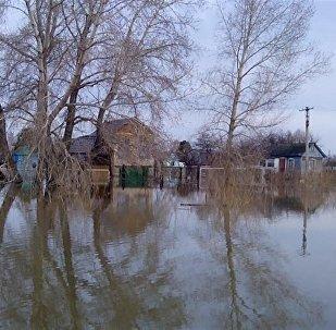 Паводки в Петропавловске