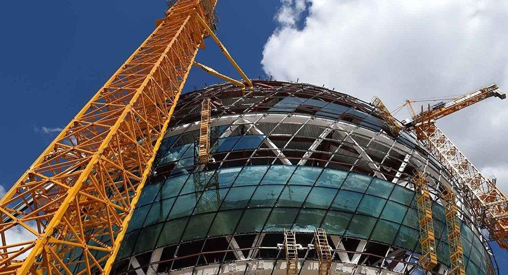 Здание, где пройдет ЭКСПО-2017 в Астане