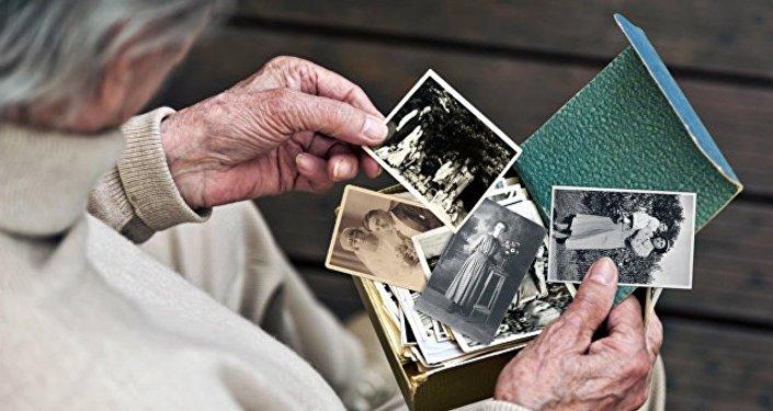 Пожилой человек. Архивное фото