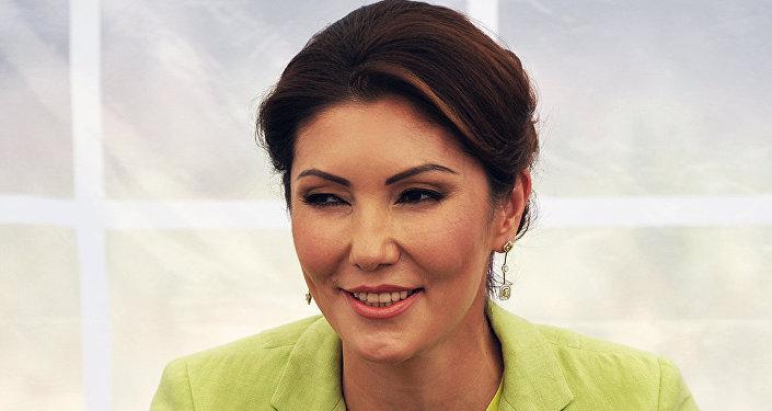 Архивное фото Алии Назарбаевой
