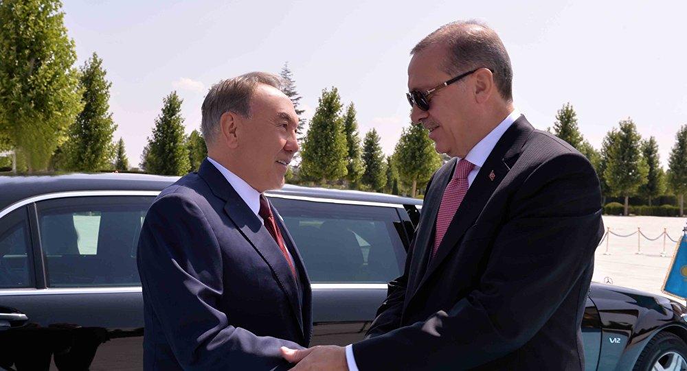 Нұрсұлтан Назарбаев пен Режеп Ердоған