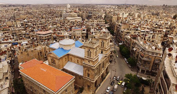 Архивное фото Алеппо
