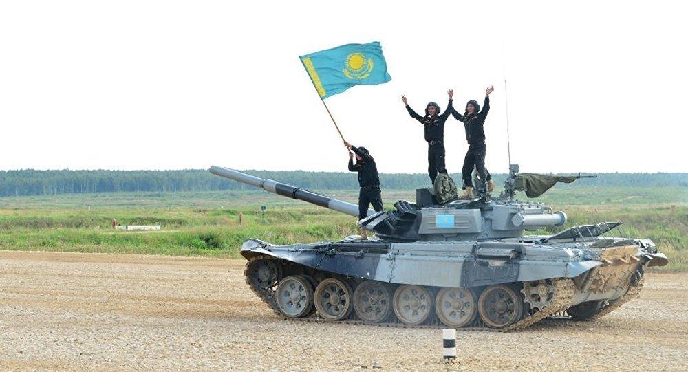 Армейские игры, команда Казахстана, архивное фото