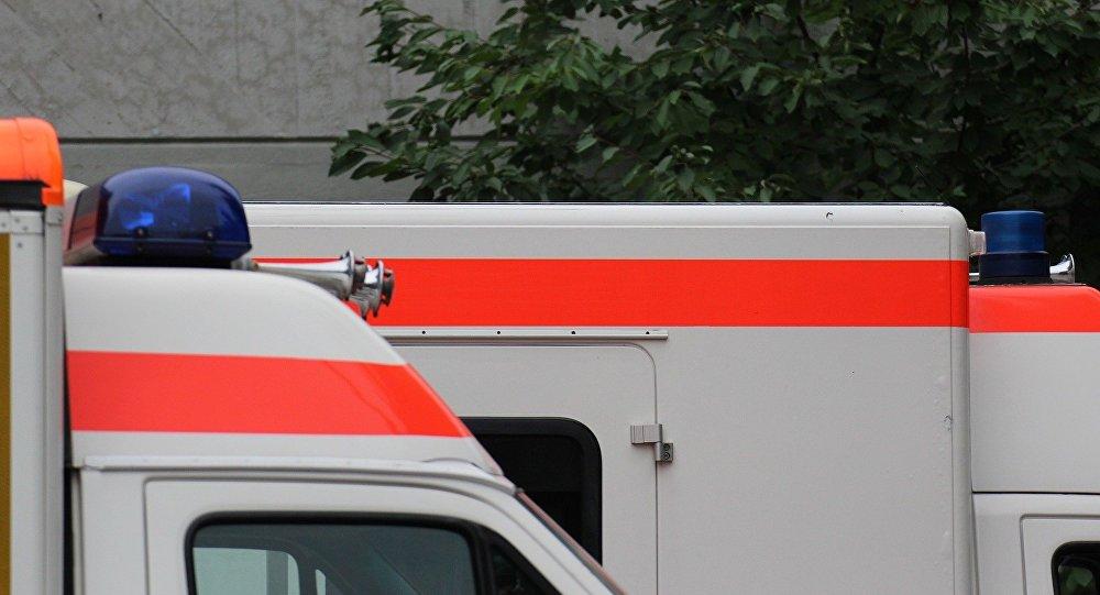 Милиция Берлина: Пассажир грузового автомобиля, протаранившего толпу, умер