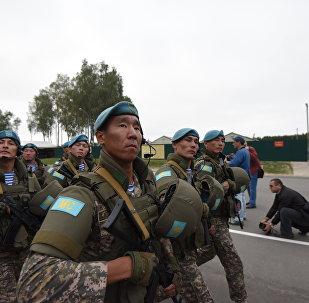 Плановое совместное учение с Коллективными миротворческими силами ОДКБ «Нерушимое братство-2016»