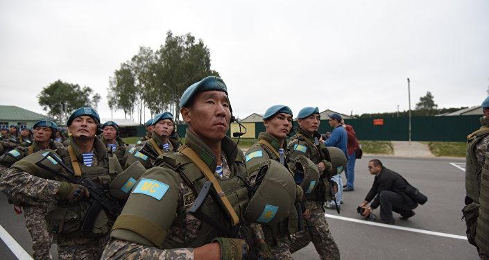 Учение с Коллективными миротворческими силами ОДКБ Нерушимое братство, архивное фото