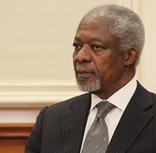 Кофи Аннан - рекадр