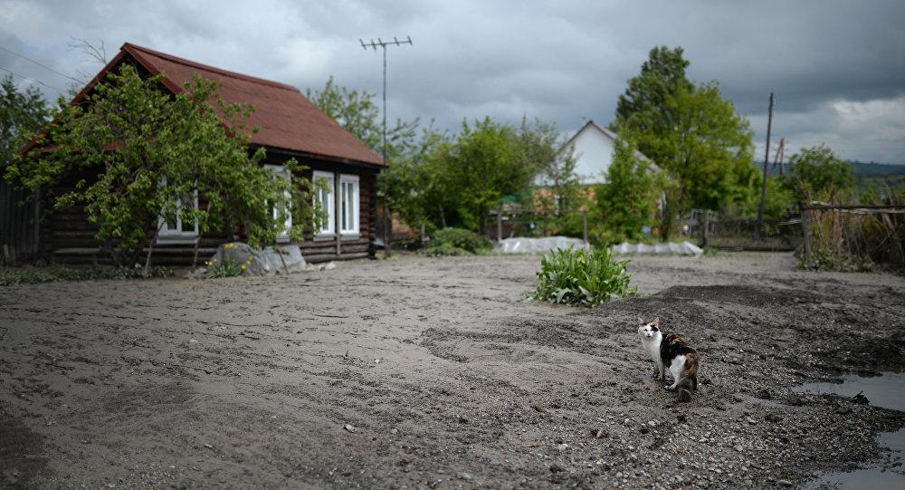 Деревня, архивное фото