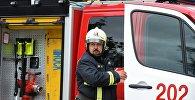 Пожарно-тактические учения в здании Останкинской телебашни