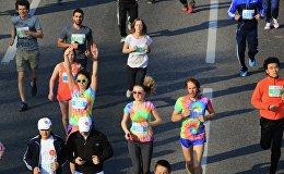 Архивное фото марафона