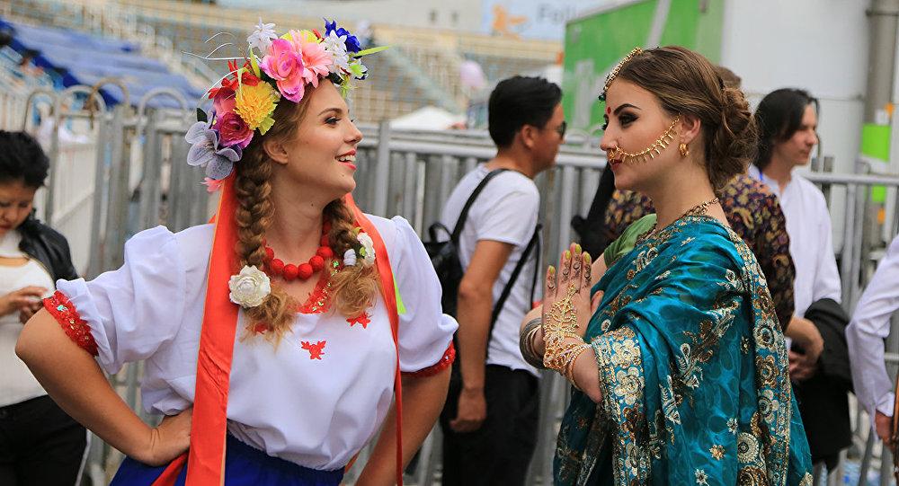 Архивное фото фестиваля ТойҚазан 2016 в Алматы